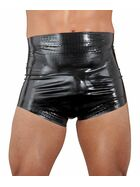 Latex-Windelslip schwarz